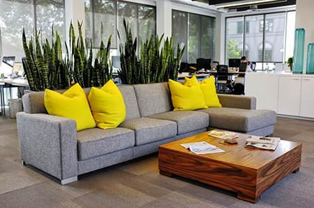 Crear distintos espacios en la oficina