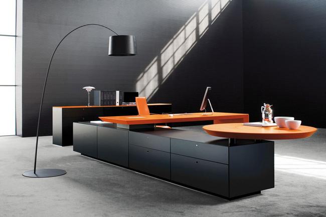 Decoración minimalista para oficins. Oftega