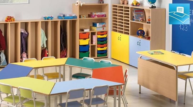 El mejor mobiliario escolar para la mejor enseñanza