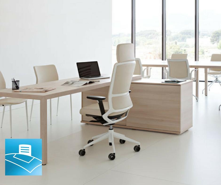 Oficina estilo escandinavo para favorecer la creatividad del trabajador