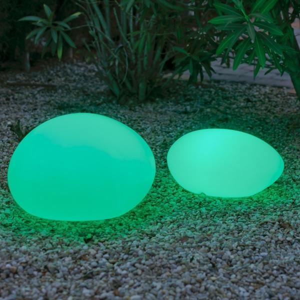 Stone Luminaria