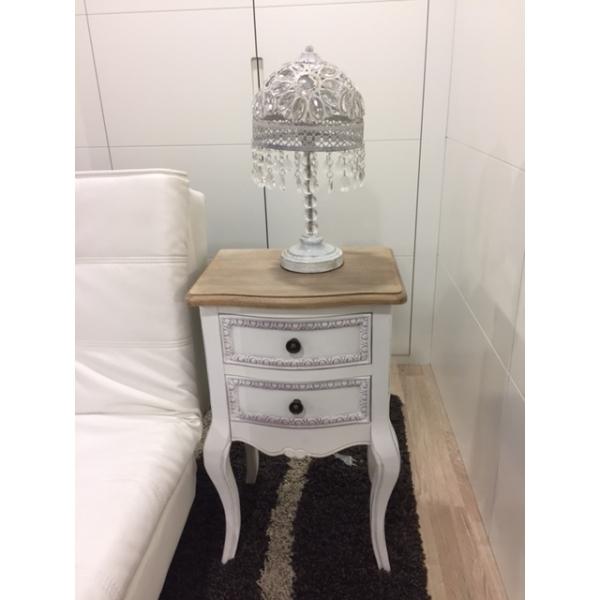 Mesa de noche madera